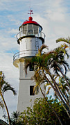 Weathervane Prints - Hawaiian Lighthouse Print by Christine Burdine