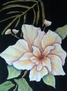 Flowers Mixed Media Originals - Hawaiian Pua by Pamela Allegretto