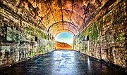 Sausalito Metal Prints - Hawk Hill Tunnel Metal Print by Robert Rus