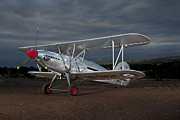 Bi-plane Prints - Hawker Fury Print by David Hibberd