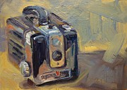Camera Painting Prints - Hawkeye Print by Donna Shortt