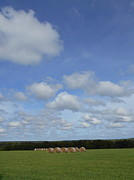 Northwoods Photos - Hay and Heaven by Alan Kurtz