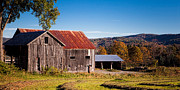 Adam Caron Metal Prints - Hay Barn Metal Print by Adam Caron