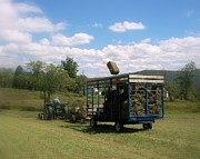 Haying Photos - Hay Ride by Linda Galok