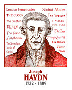 Quartet Posters - Haydn Poster by Paul Helm