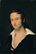 Young Man Prints - Hayez Francesco, Portrait Of Carlo Print by Everett