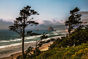 Seacape Metal Prints - Haystack Framed Metal Print by Robert Bales