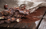 Snack Bar Art - Hazelnut Chocolate by HandmadePictures