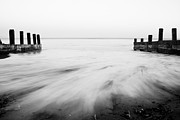 Limited Edition Framed Prints - Hazey Day in Black and White Framed Print by Shayne Skower