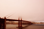 Famous Bridge Metal Prints - Hazy Days Metal Print by Chad Tracy