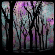 Hazy Purple Print by Gothicolors Images