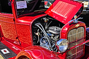 Pickup Truck Door Posters - HDR 1928 Chevy Pick Up Truck Poster by  Terrie Heslop