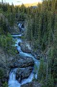 Brookes Framed Prints - Hdr Of High Creek Outside Of Atlin Framed Print by Robert Postma