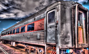 Hdr Train Print by DH Visions Photography