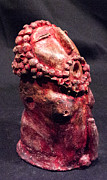 Man Sculpture Prints - HE Garnet Print by Mark M  Mellon