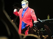 Elton John Photos - He still has it by Aaron Martens