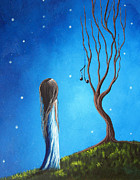 Dreams Paintings - He Still Loves Her by Shawna Erback by Shawna Erback