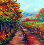 Nature Walks Paintings - He Walks with Me by Meaghan Troup