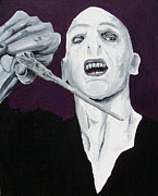 Voldemort Framed Prints - He Who Shall Not Be Named Framed Print by Jack Irons