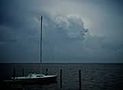 Lbi Prints - Head in the Clouds Print by Mark Miller