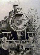 Head Of Steam Print by Rick Moore