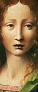 Davinci Prints - Head of the Savior Print by Leonardo Da Vinci