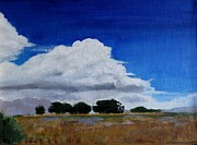 Quietude Paintings - Heading for a Storm by Jan  Brieger-Scranton