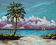 Florida Art - Heading Home by Eve  Wheeler