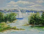 Gail Allen - Heading Out of The Harbor