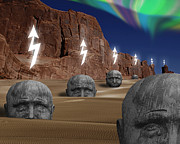 Keith Dillon - Heads At Red Rock