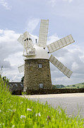 Steev Stamford Framed Prints - Heage Windmill Framed Print by Steev Stamford
