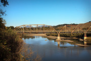 Sonoma County Vineyards. Prints - Healdsburg Bridge Print by Kathy Sidjakov