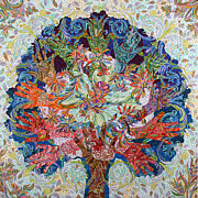 Healing Hands Print by Erika Pochybova-Johnson