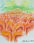 Supernatural Pastels - Healing Presence by Kelly Burris