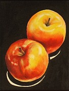 Healthy Eating Paintings - Healthy Eating II by Sheila Diemert