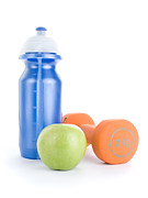 Water Bottle Posters - Healthy Living Poster by Jose Elias - Sofia Pereira