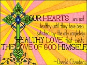 Christianity Drawings - Healthy Love by Rebecca Jayne