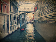 Venetian Canals Framed Prints - Hear the Sighs Framed Print by Laurie Search
