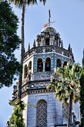 William Randolph Framed Prints - Hearst Castle Tower - California Framed Print by Jon Berghoff