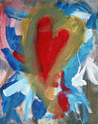 Heart Healthy Painting Posters - Heart 3 Poster by J Dames
