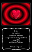 Morals Posters - Heart and Love Design 11 with Bible Quote Poster by Rose Santuci-Sofranko