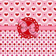 Hearts Digital Art - Heart Bliss by Debra  Miller
