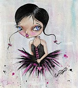 Pop Surrealism Paintings - Heart Break Ballet by Lizzy Love of Oddball Art Co