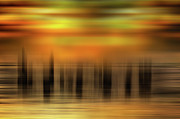 Heart Of Gold - A Tranquil Moments Landscape Print by Dan Carmichael
