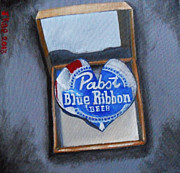 Box Sculpture Posters - Heart Of Pabst Poster by J Kae
