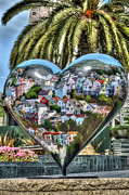 In My Heart Posters - Heart of San Francisco Poster by Anthony Citro