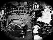 Boiler Photo Originals - Heart of the Locomotive by Dieter  Lesche