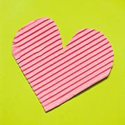 Heart Shape Print by Tom Gowanlock