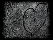 Broken Heart Photos - Heart Shattered Glass by Steven  Michael