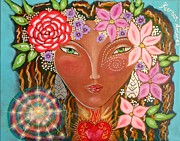 Song Mixed Media Originals - Heart Song by Kiernan Antares
